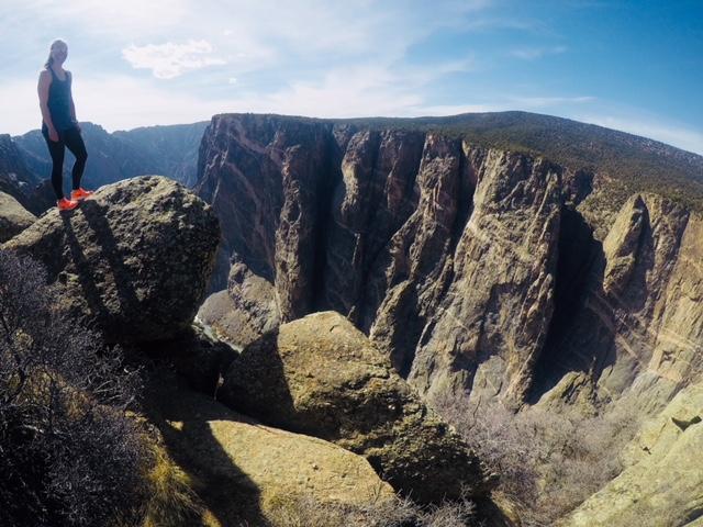 Black Canyonin reunalla