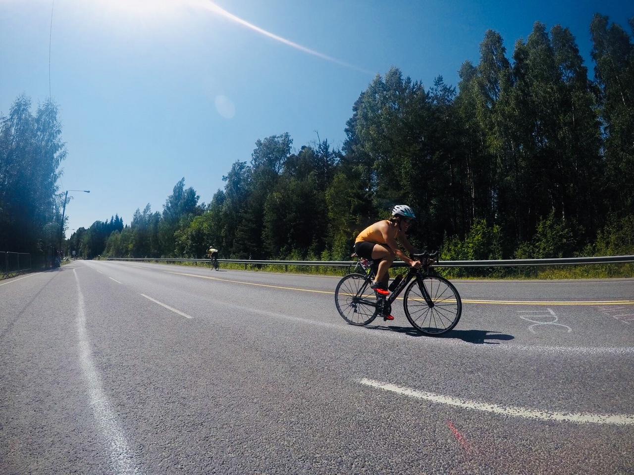 vantaa triathlon perusmatka