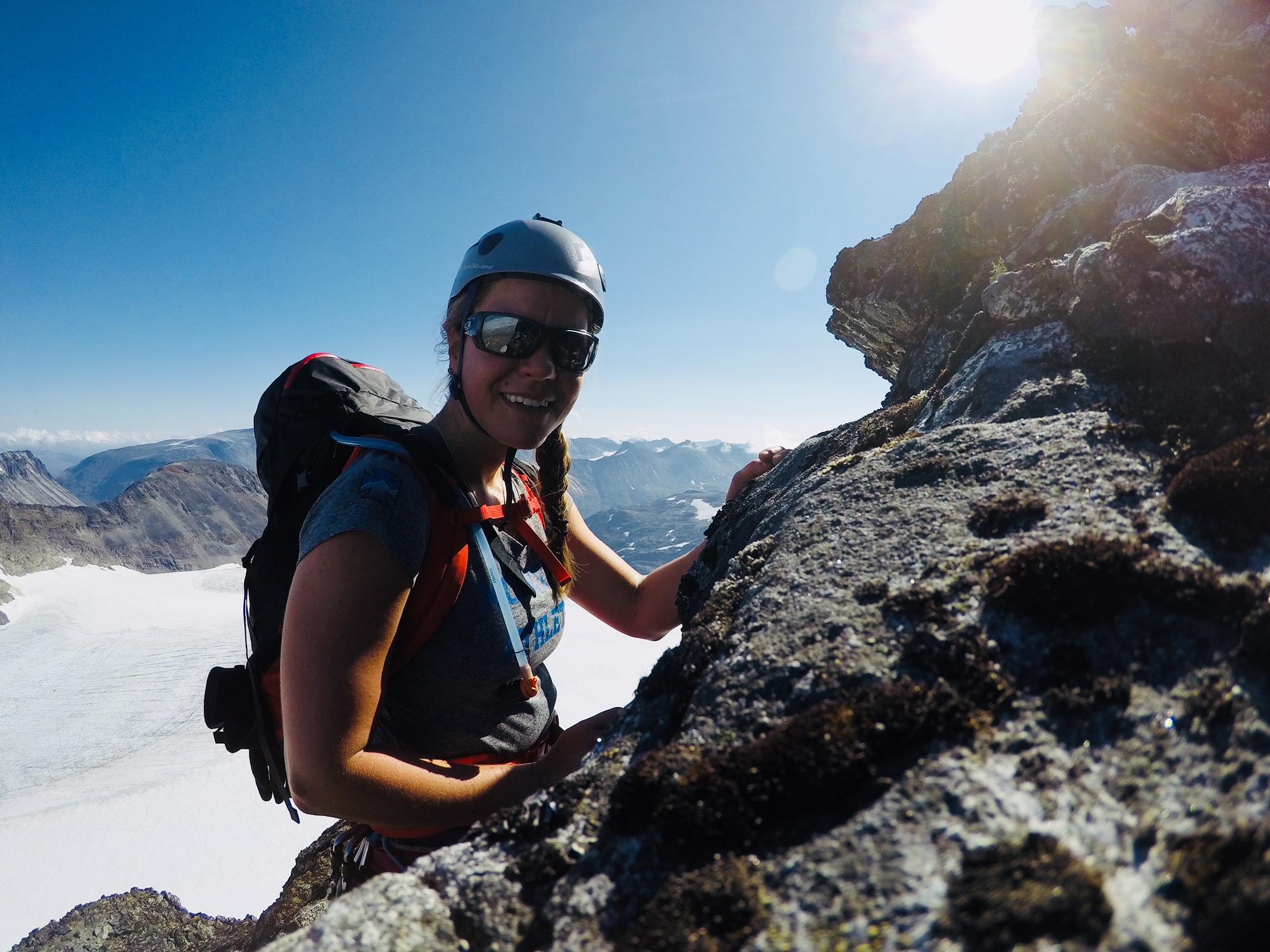 norja ja kalliokiipeily