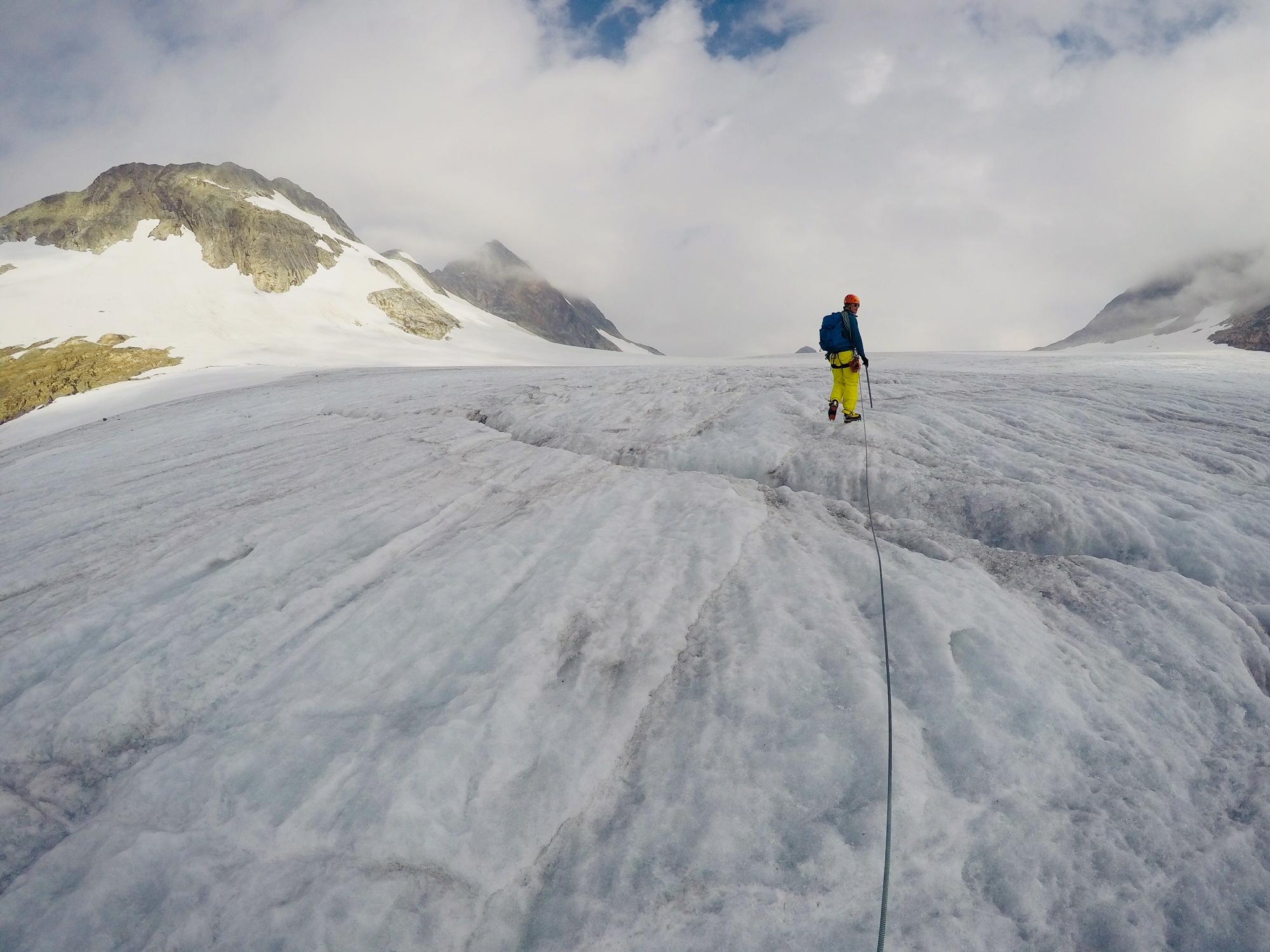 uranostindin jäätikkö