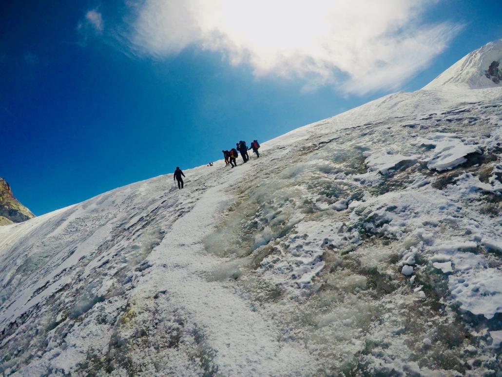 Mera Peak jäätikkö