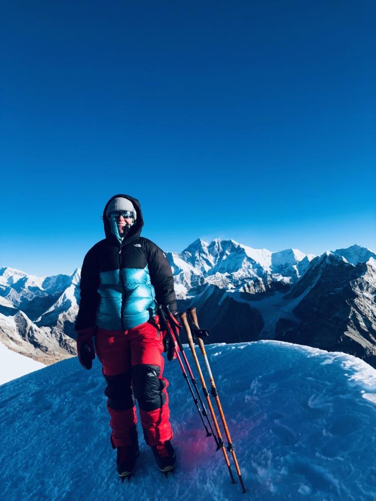 mera peakin kiipeäminen Nepalissa