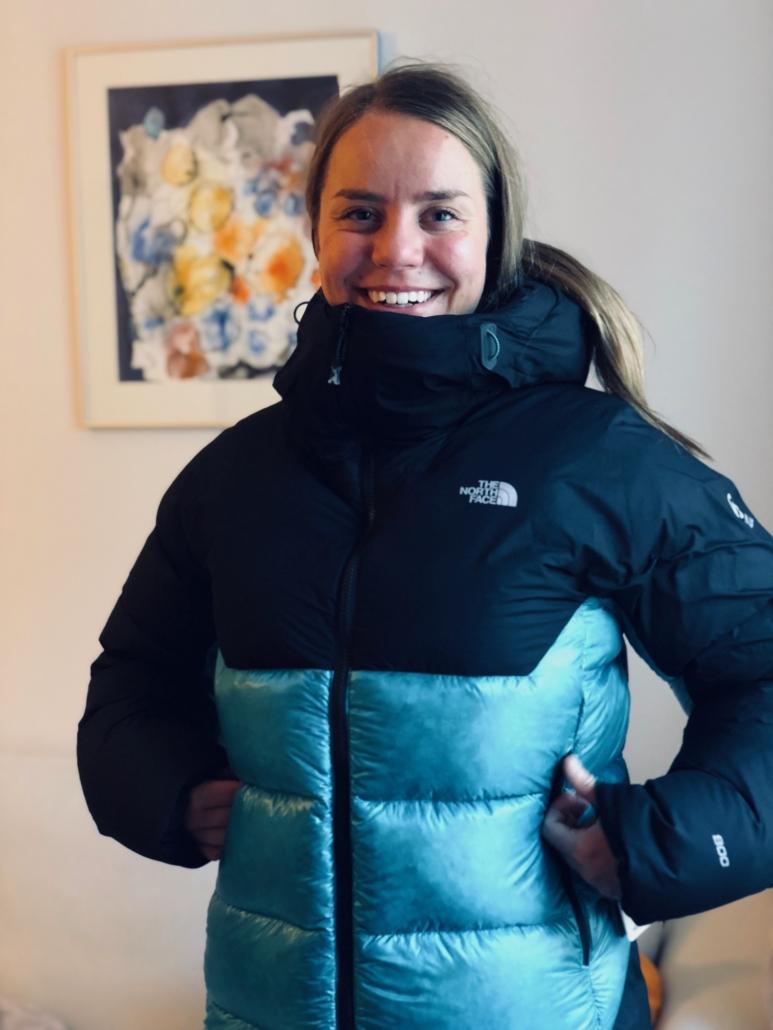 The North Face takki vuorikiipeilyä varten