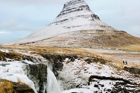Kirkufjell nähtävyys Islannissa
