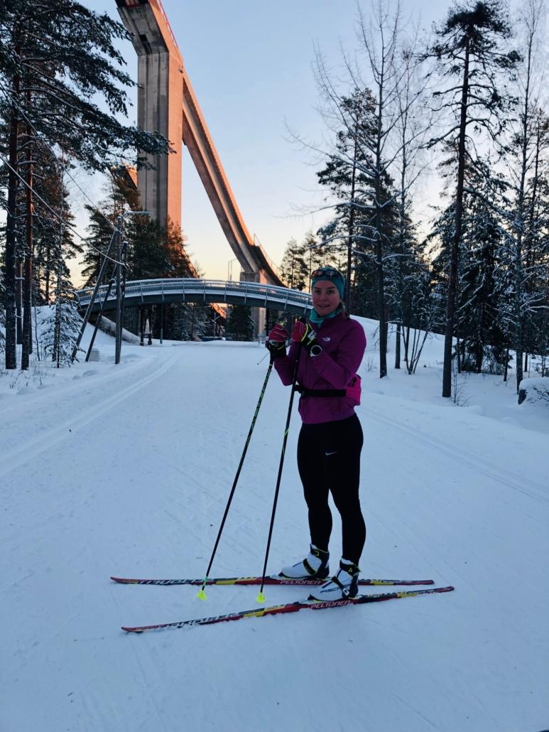Lahden urheilukeskuksen hiihtoladut
