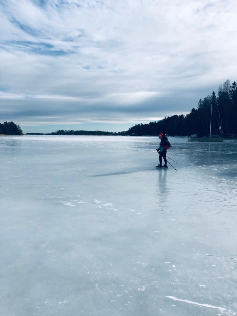 Retkiluistelu Helsinki