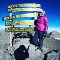 Uhuru Peak 5895 metriä