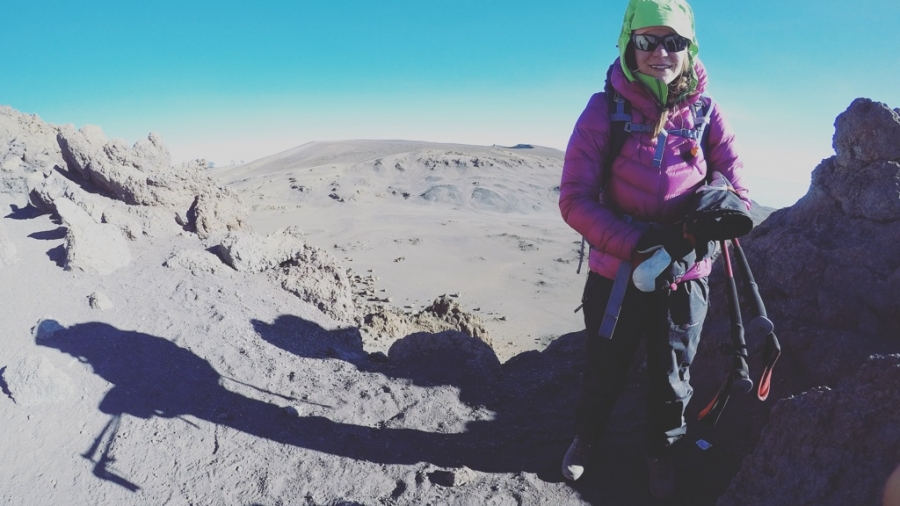 Matkalla Uhuru Peakille