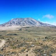 Kilimanjaro edessämme