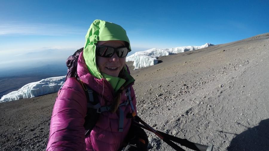 Melkein Kilimanjaron huipulla