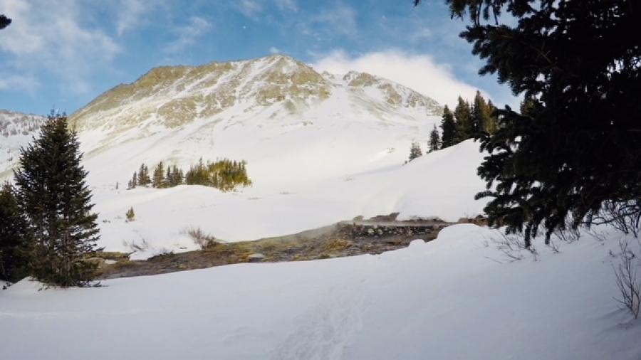 Vuorilla Coloradossa