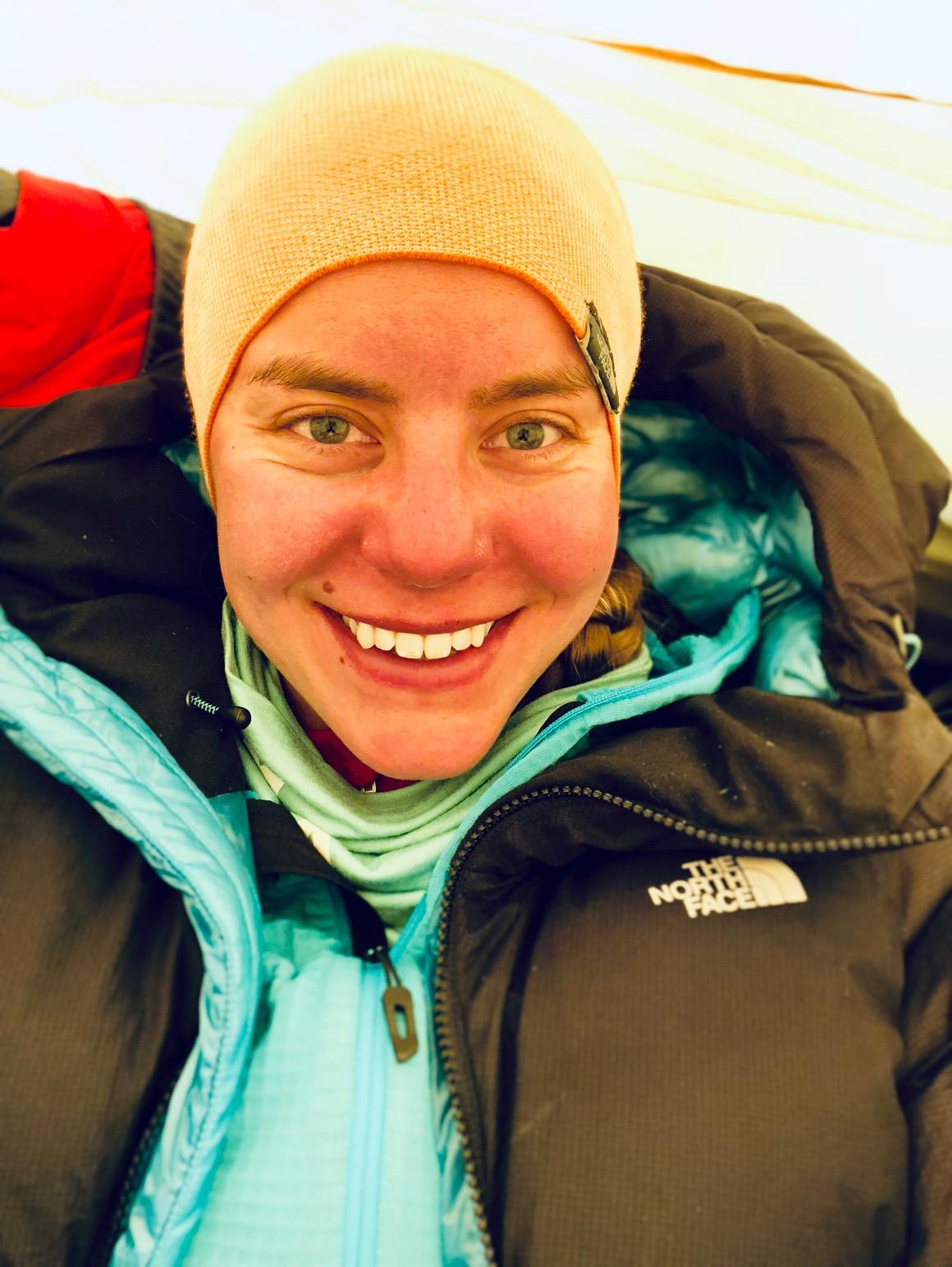 Baruntsen kakkosleirissä 6400 metrin korkeudessa