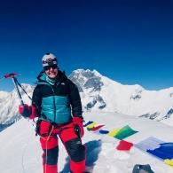 Baruntsen 7129 metrin huipulla