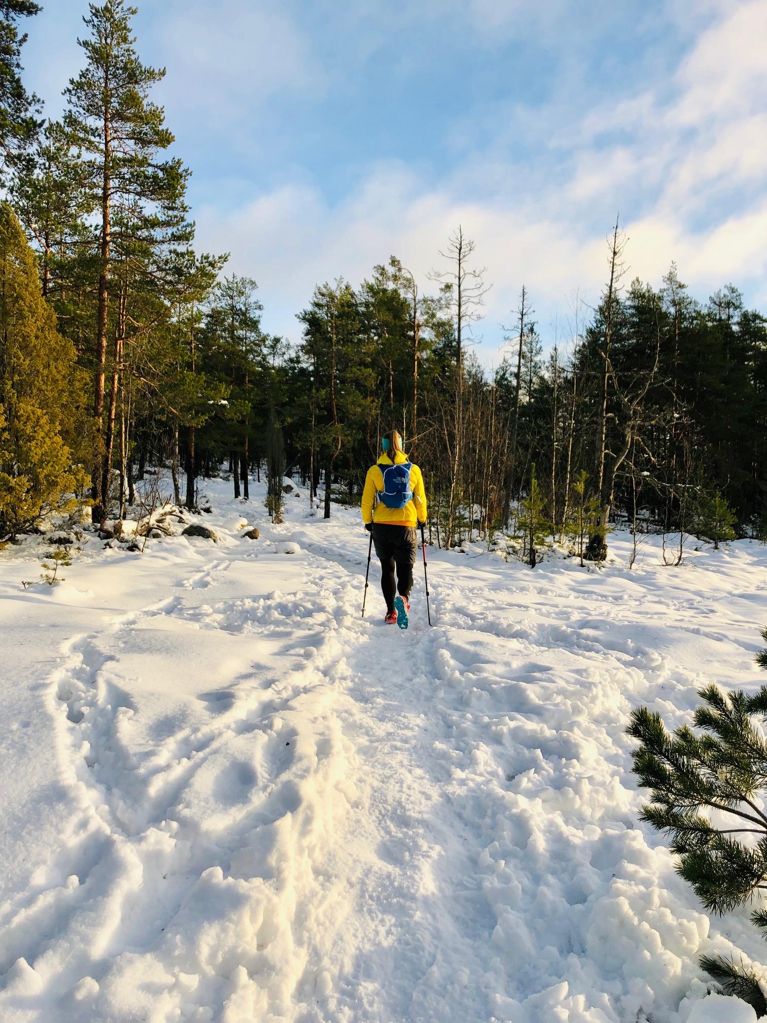 Harjoittelu vuorikiipeilyä varten