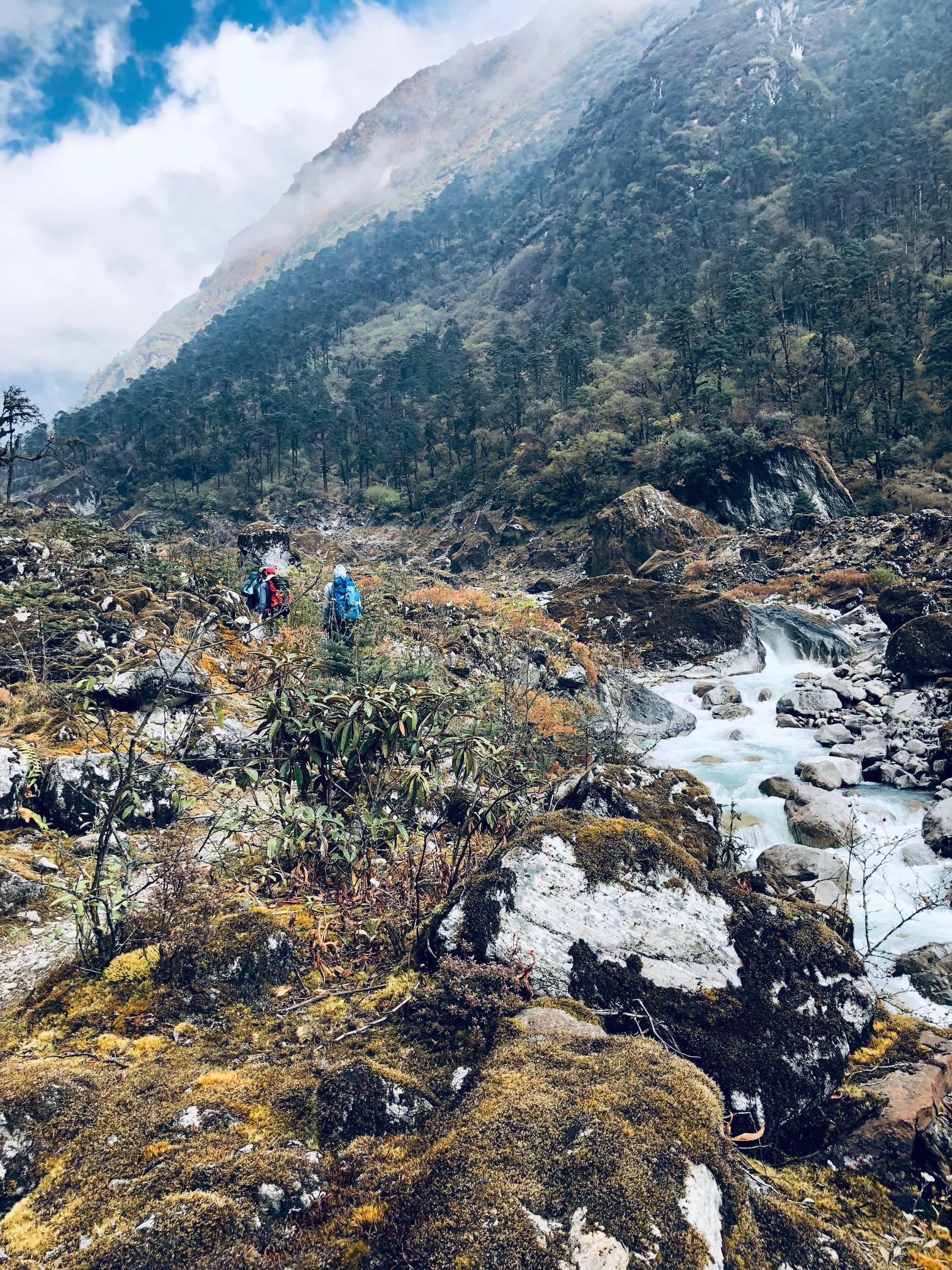 luottamus vuorikiipeilyssä
