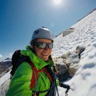 Vuorikiipeilyä Norjassa