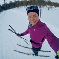 Pyhän hiihtoladuilla - hyvä fiilis tunturissa