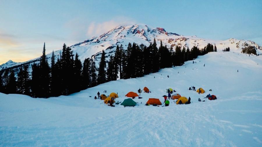 Mt. Rainier Wahingtonissa - seuraavaksi Denalille