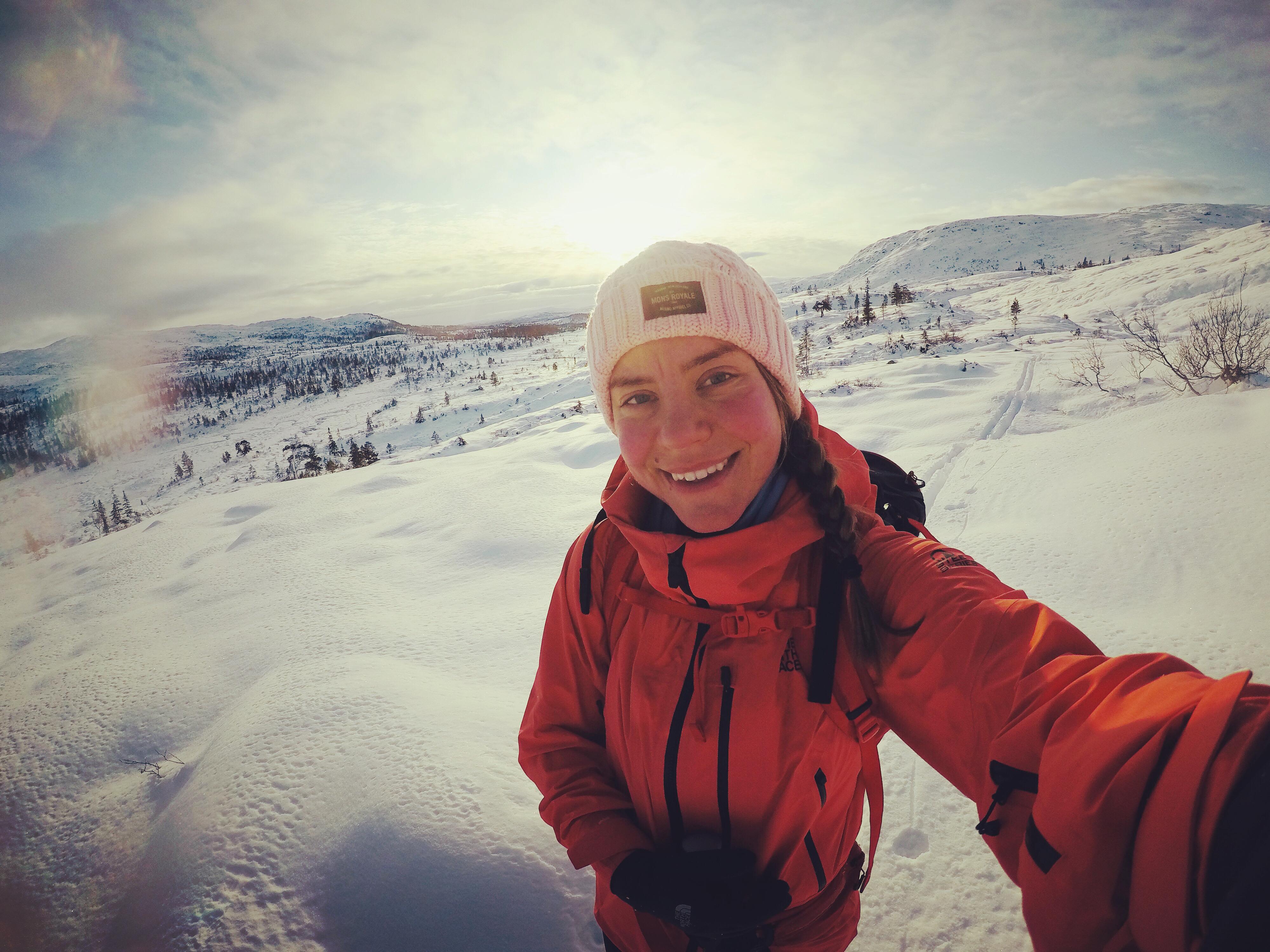 Norjassa talviretkeilyä