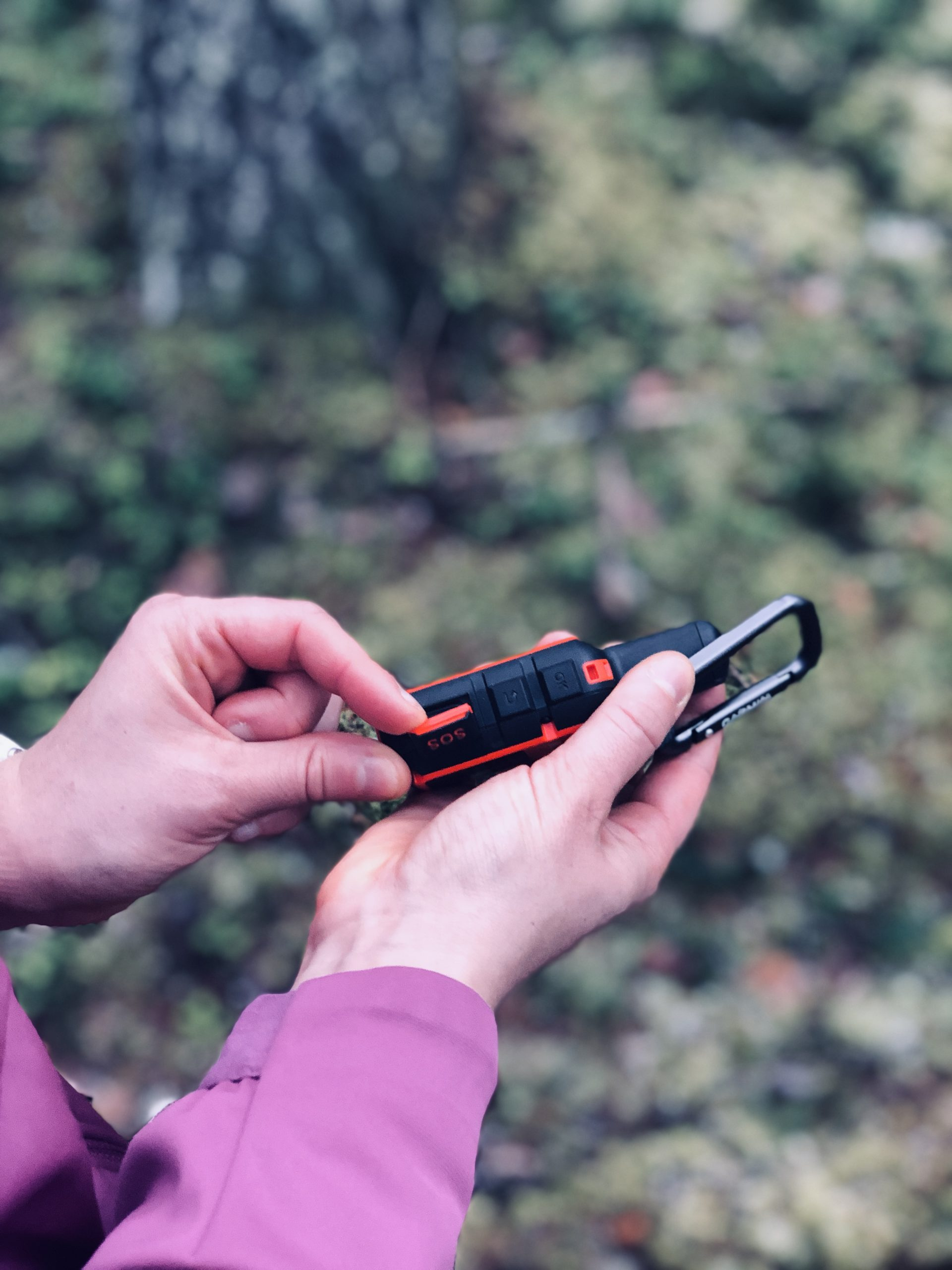 inReach MINI SOS painike