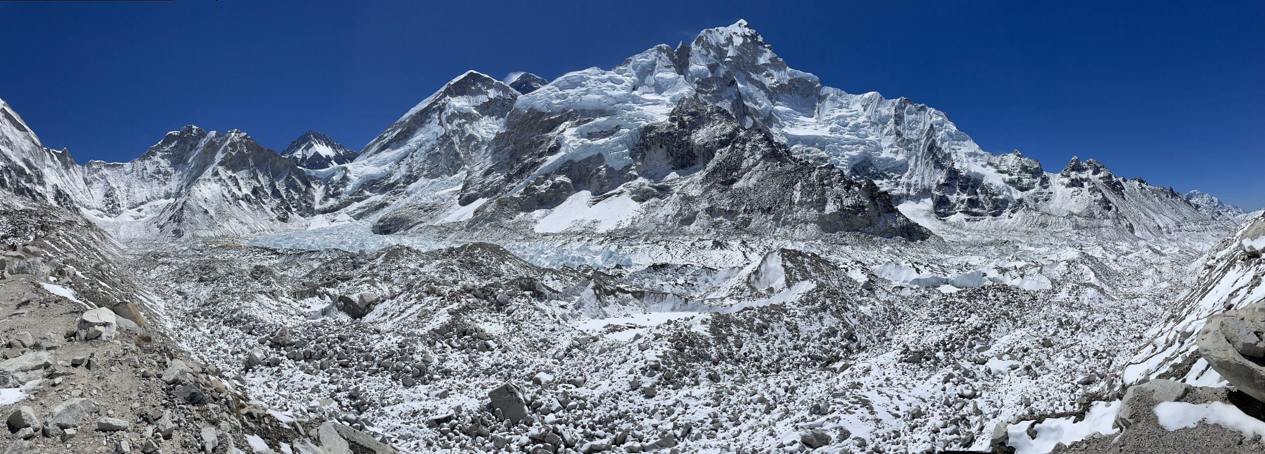 Näkymä Everestille