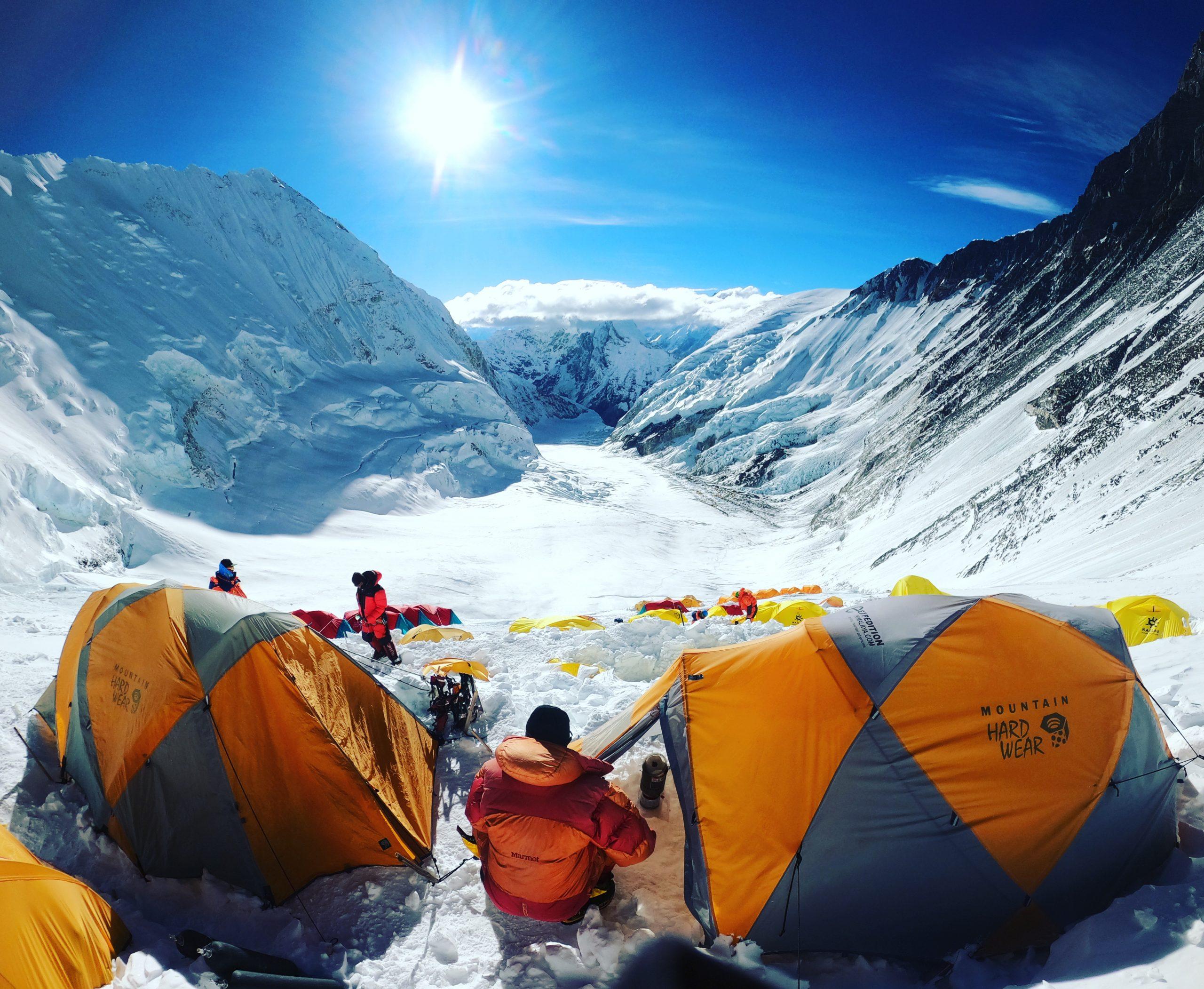 Everest kolmosleiri 7100 metriä