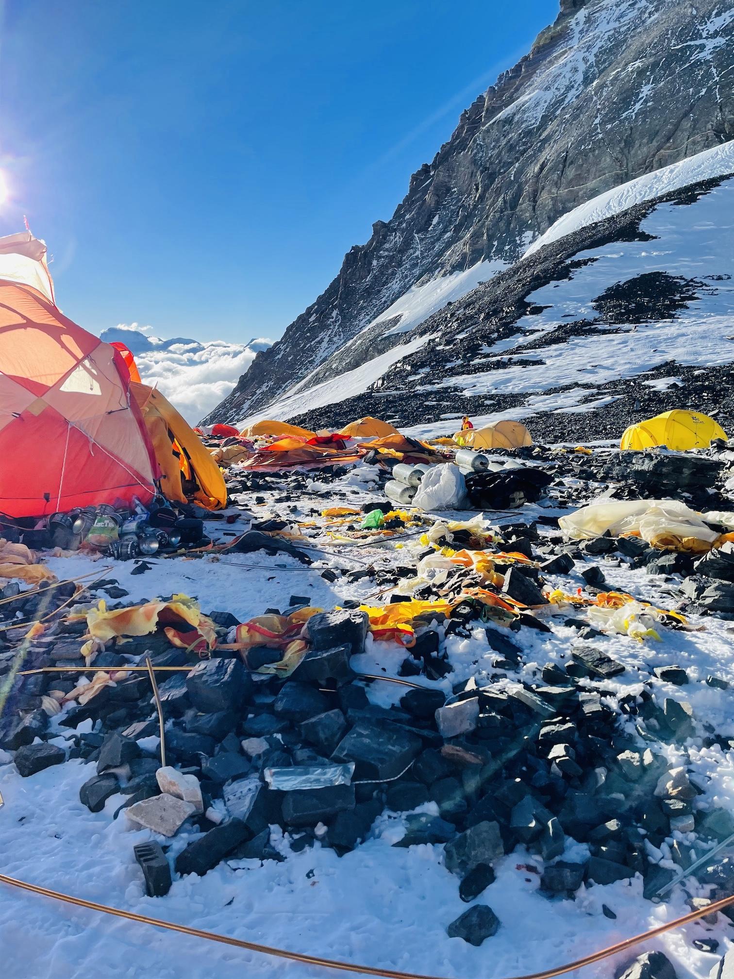 Everest roskat