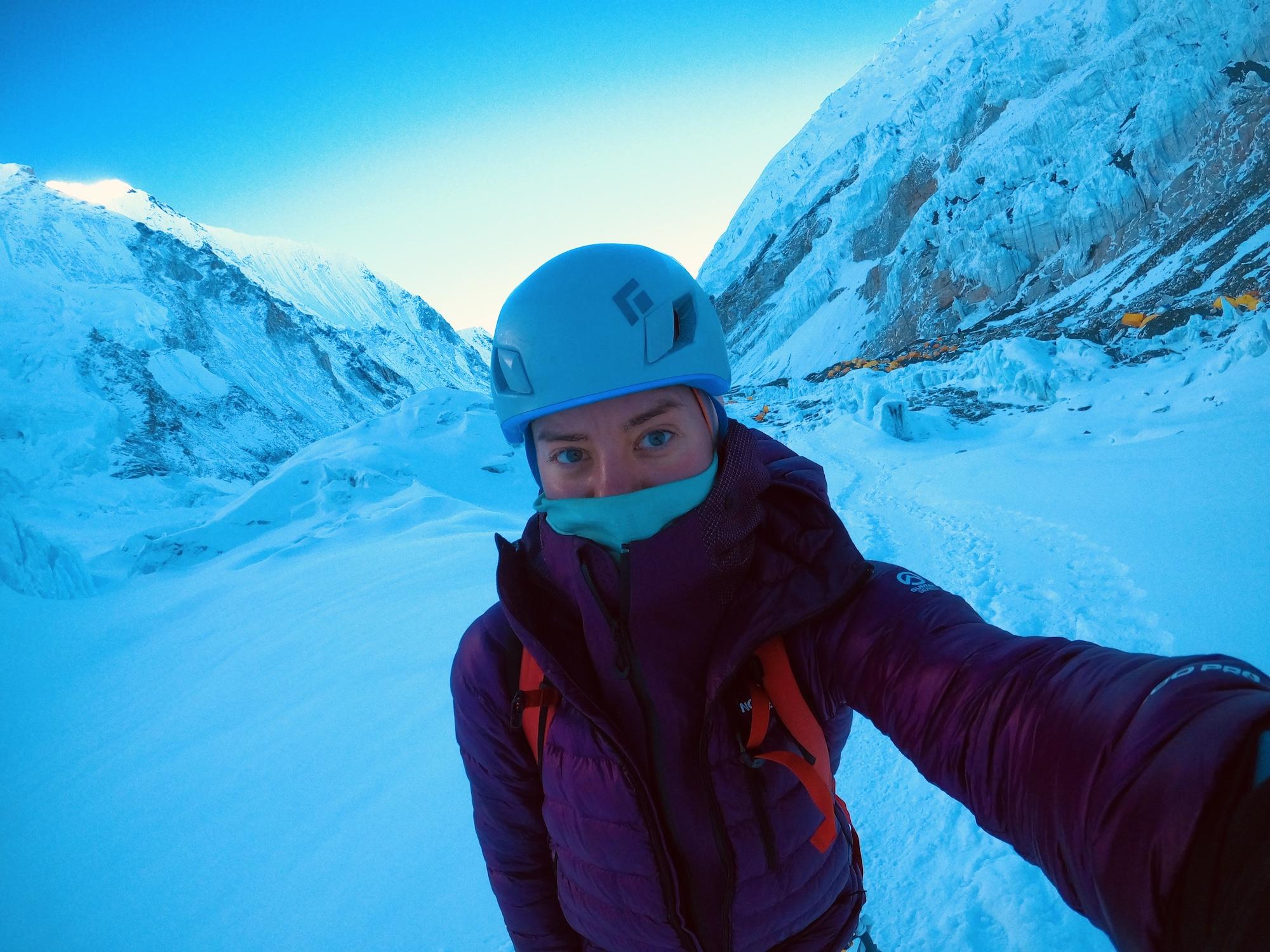 Everest ruuhka, yksin