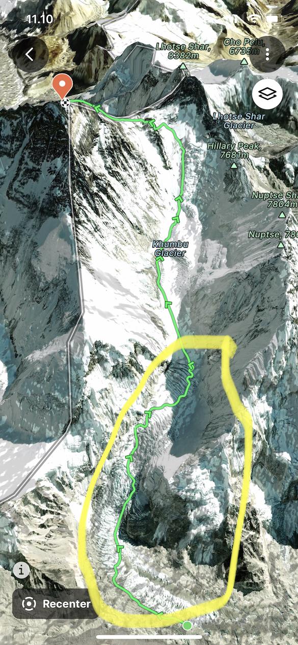 Khumbun jääputous
