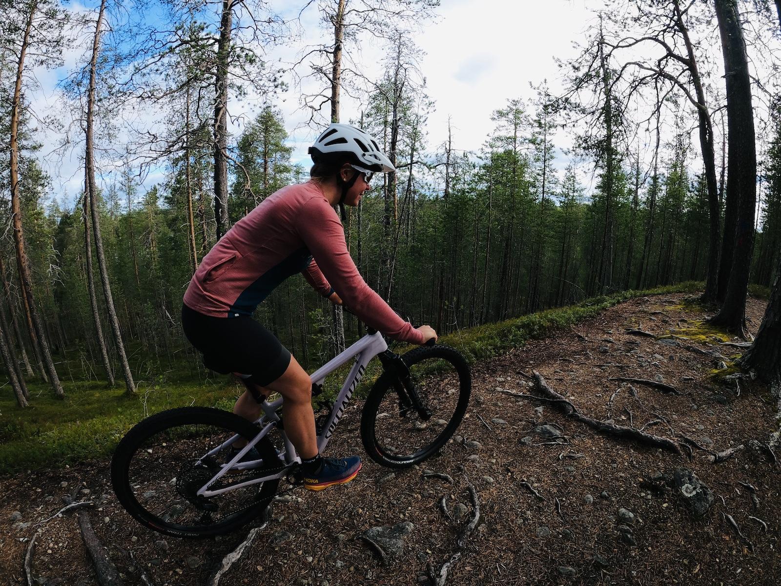 Hossa maastopyöräily